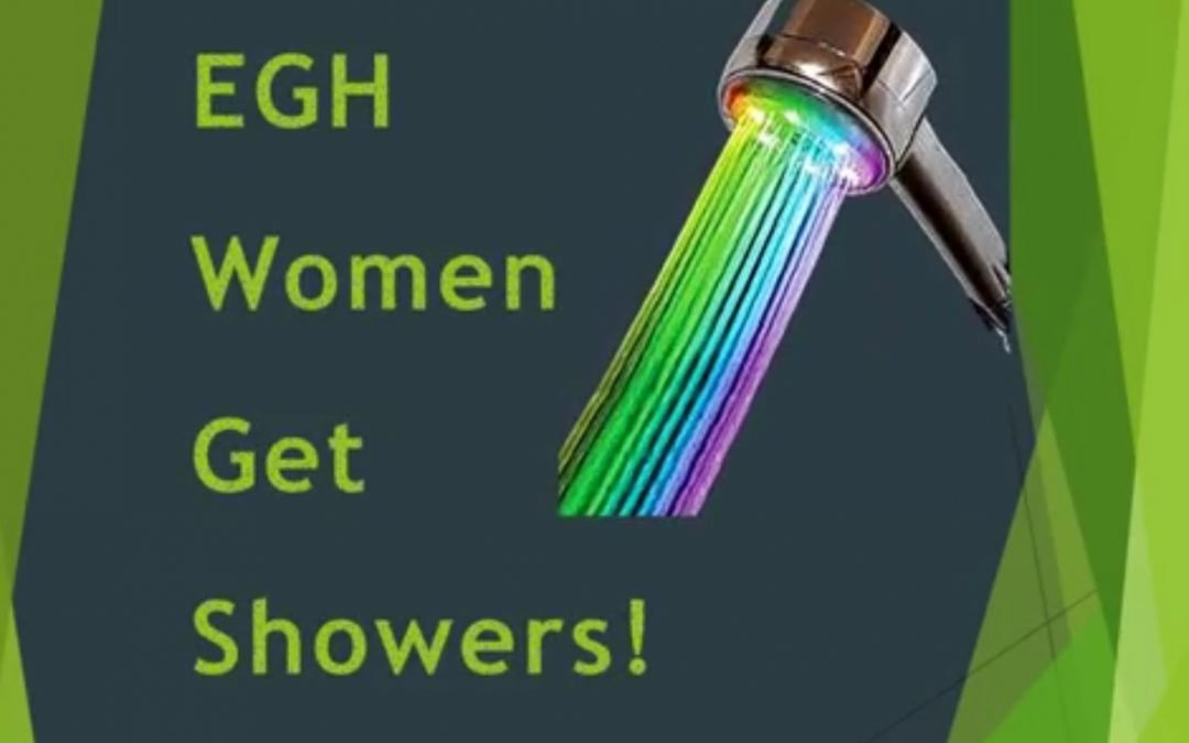 EGH Gets Showers!